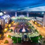 График движения поезда 127/128 Харьков ― Ковель