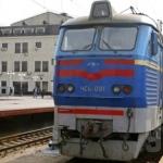 График движения поездов 111/112 и 131/132 Харьков-Львов