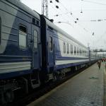 График движения поезда 17/18 Харьков ― Ужгород