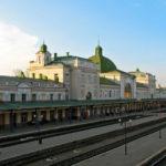 График движения поезда 1/2 Ивано-Франковск ― Константиновка