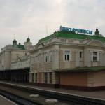 График движения поезда 133/134 Николаев ― Рахов